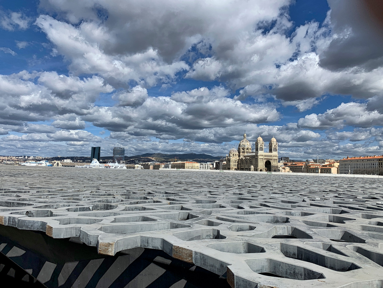 Alain Brasseur - Le toit du Mucem à Marseille