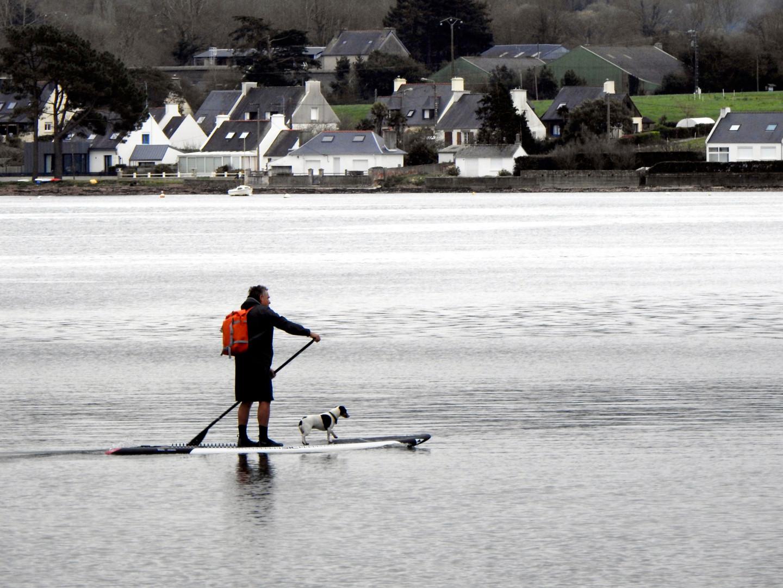Alain Brasseur - Randonnée aquatique en Bretagne.