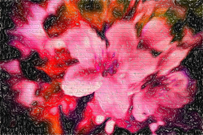 Alain Brasseur - Flowers. - 2