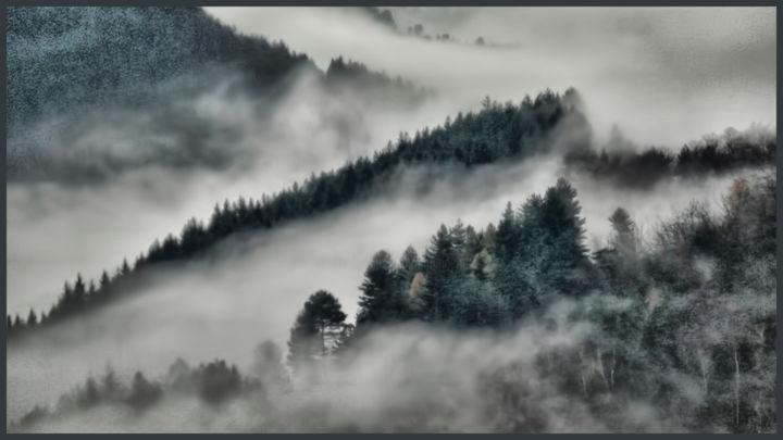 ALAIN BRASSEUR - Brumes dans la vallée....3