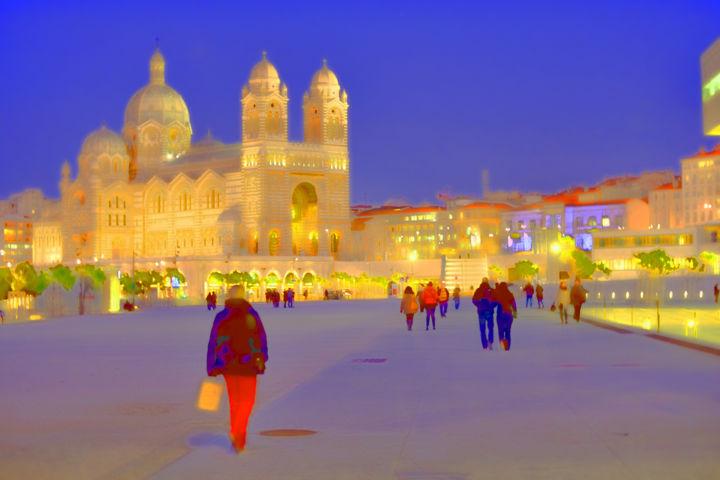 ALAIN BRASSEUR - Un soir à Marseille.